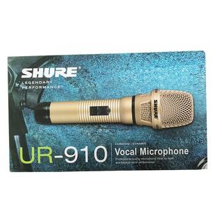 Micro có dây shure 910 cao cấp