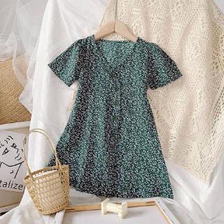Váy Với Họa Tiết Hoa Dùng Cho Bé Gái Từ 2 Tới 7 Tuổi