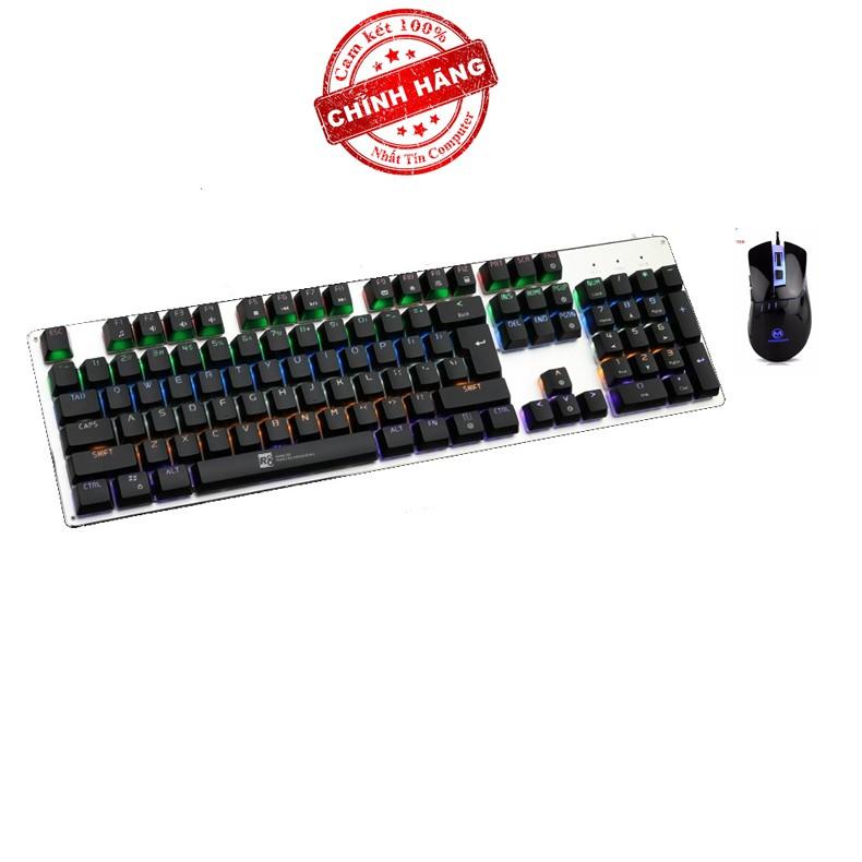 Bộ bàn phím cơ và chuột LED chơi Game R8 G100 - MORZZOR MZ-05 (Đen) - 2575704 , 410060621 , 322_410060621 , 874000 , Bo-ban-phim-co-va-chuot-LED-choi-Game-R8-G100-MORZZOR-MZ-05-Den-322_410060621 , shopee.vn , Bộ bàn phím cơ và chuột LED chơi Game R8 G100 - MORZZOR MZ-05 (Đen)