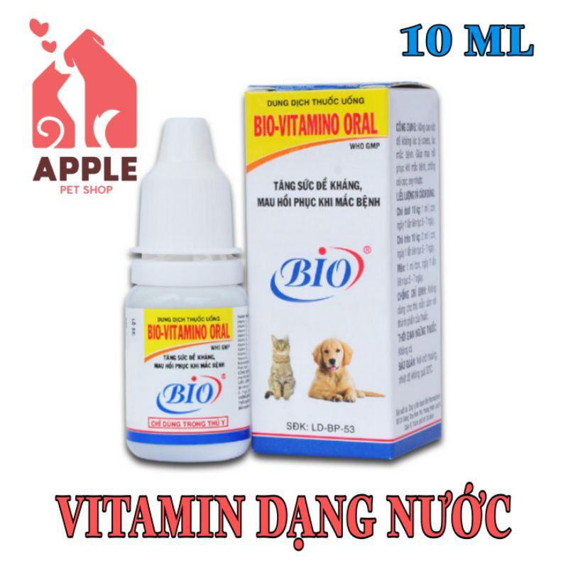 [BIO-VITAMIN ORAL] [10ML] Bổ sung vitamin, giúp mau hồi phục, vỗ béo