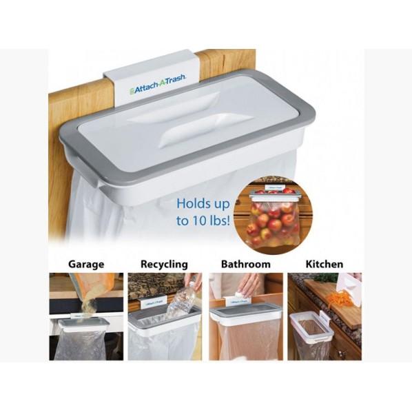 Giá treo túi đựng rác thông minh - Attach A Trash - 3295958 , 1022156437 , 322_1022156437 , 65500 , Gia-treo-tui-dung-rac-thong-minh-Attach-A-Trash-322_1022156437 , shopee.vn , Giá treo túi đựng rác thông minh - Attach A Trash