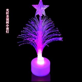 Đèn LED sợi quang thiết kế hình cây thông giáng sinh nhiều màu sắc trang trí thumbnail