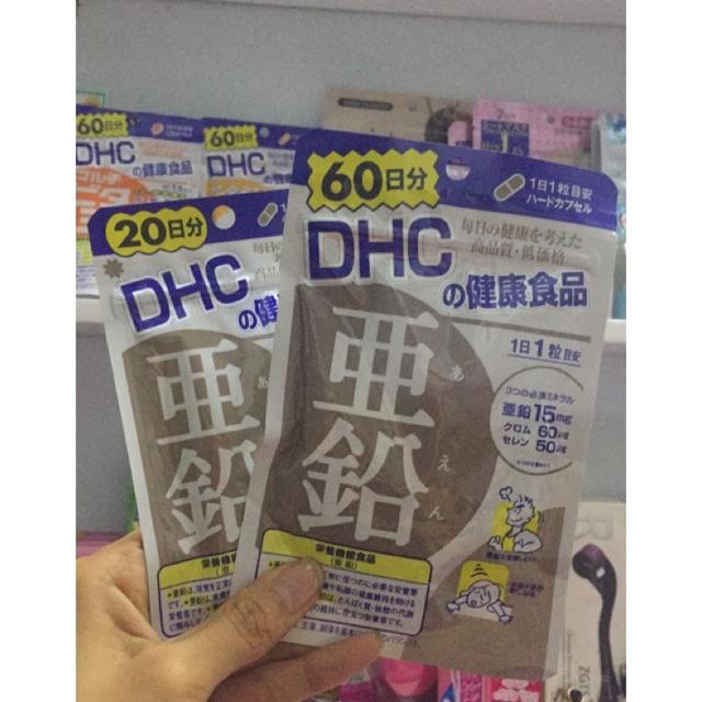VIÊN KẼM DHC trị rụng tóc 60 ngày