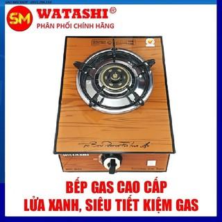 [Tặng 2m dây ga + 2 cổ dê] Bếp Gas Đơn Watashi WA 014 Điếu inox 304 thumbnail