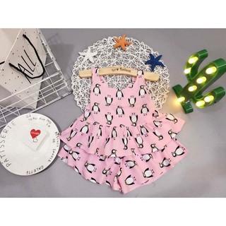 Set com bo Bộ vải lanh nữ + Váy lanh Peggi