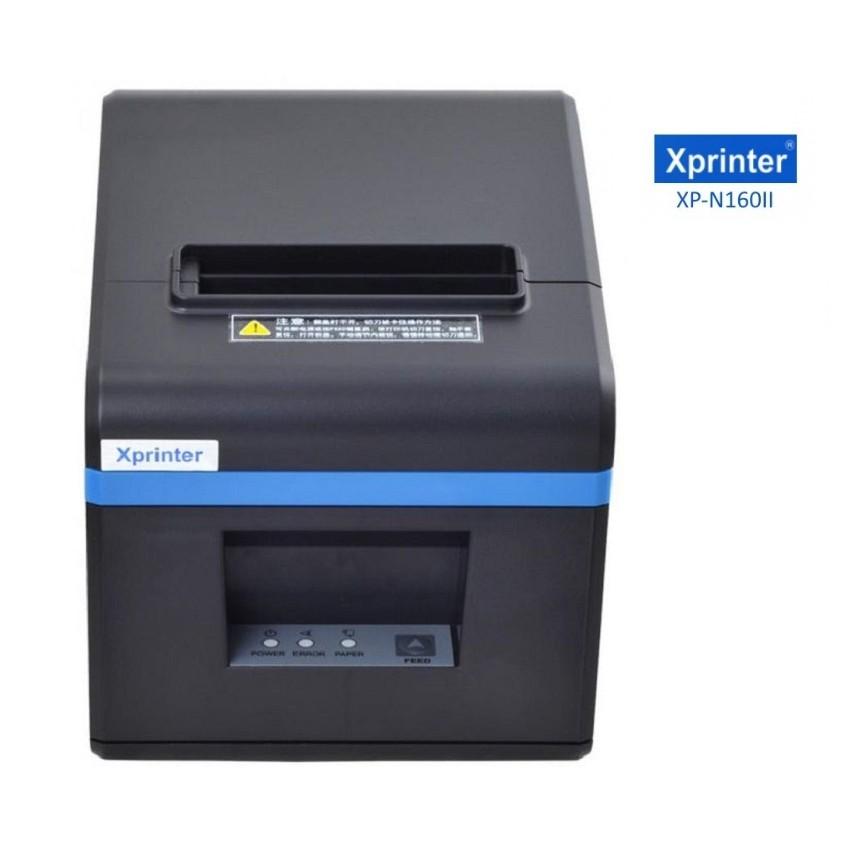 Máy in hóa đơn Xprinter XP N160ii (XANH)