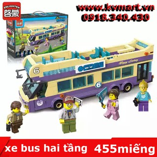 lego xe bus 2 tầng – enlighten 1123