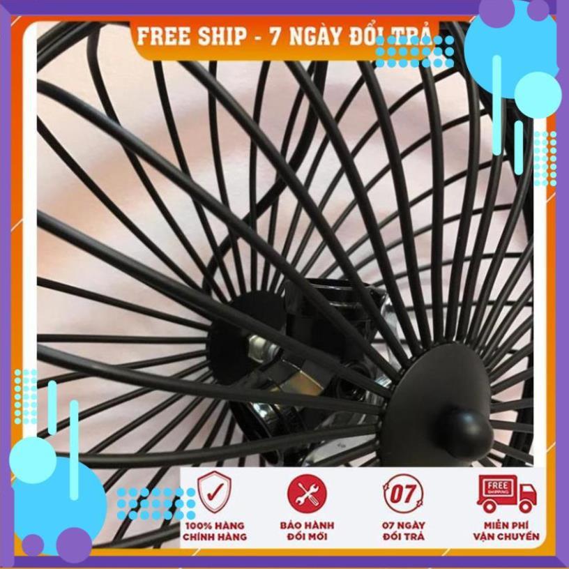 FreeShip Đèn Thả Trần Kiểu Lồng Quạt 3 Đui TN433 - Chưa bao gồm bóng