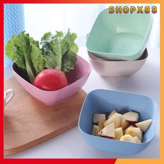 Bát ăn hoa quả không vỡ thay thế bát sứ làm từ chất liệu từ cây lúa mạch, sử dụng trong máy rửa bát và lò vi sóng SX 212