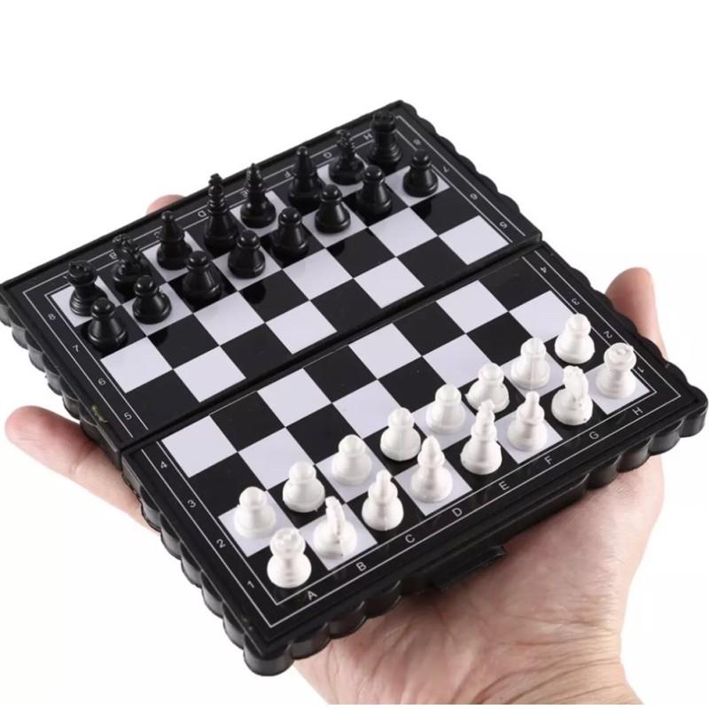 Bàn cờ vua mini cầm tay nhỏ gọn tiện lợi hàng bao đẹp