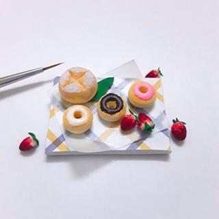 Set bánh donut-minifood