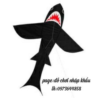 diều cá mập đen