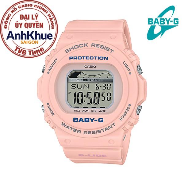 Đồng hồ nữ dây nhựa Casio Baby-G chính hãng Anh Khuê BLX-570-4DR