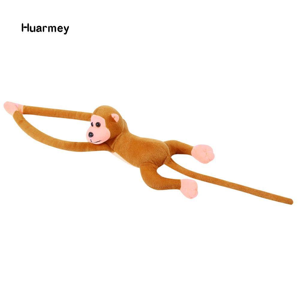Thú nhồi bông hình chú khỉ tay dài đáng yêu
