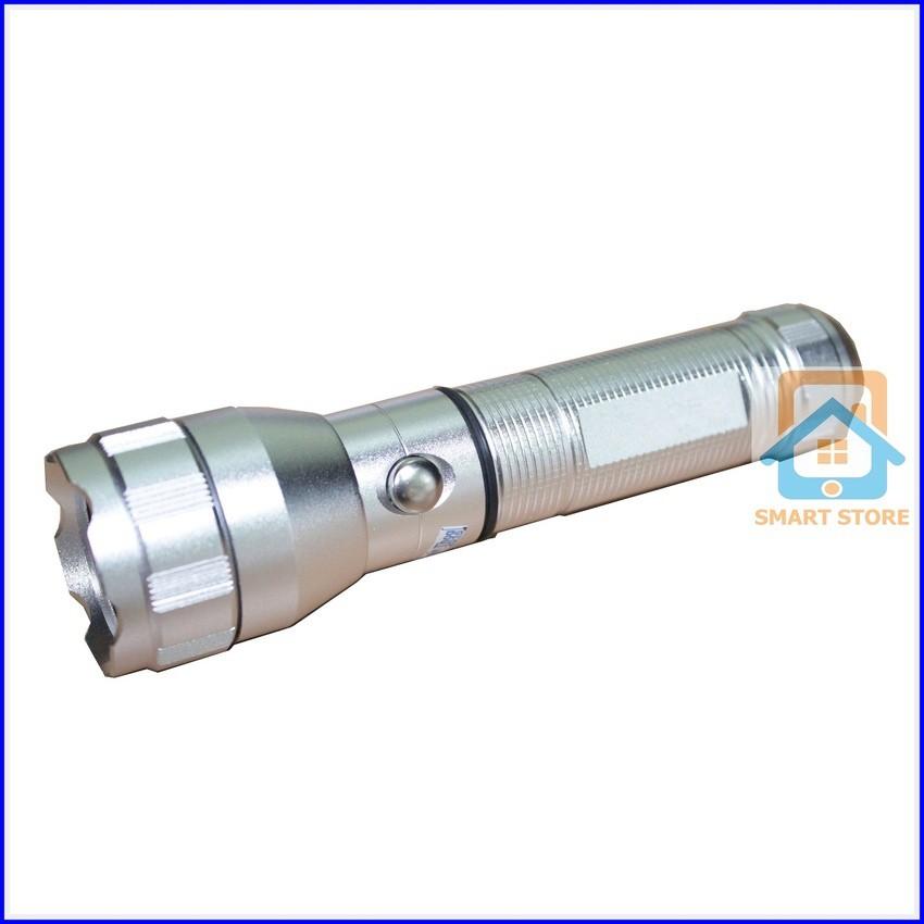 Đèn pin sạc vỏ kim loại siêu sáng siêu bền Smart Store 535 (Bạc) - 10051386 , 196580122 , 322_196580122 , 184000 , Den-pin-sac-vo-kim-loai-sieu-sang-sieu-ben-Smart-Store-535-Bac-322_196580122 , shopee.vn , Đèn pin sạc vỏ kim loại siêu sáng siêu bền Smart Store 535 (Bạc)