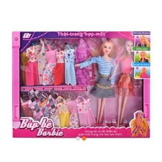 Bộ đồ chơi búp bê thời cho bé gái
