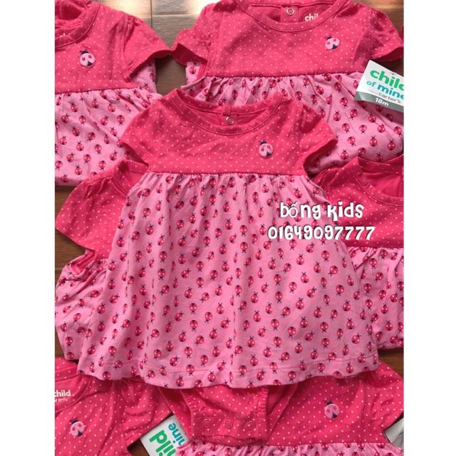 Váy Body Bé Gái Bọ Cánh Pink Carters - 3287208 , 972445410 , 322_972445410 , 115000 , Vay-Body-Be-Gai-Bo-Canh-Pink-Carters-322_972445410 , shopee.vn , Váy Body Bé Gái Bọ Cánh Pink Carters