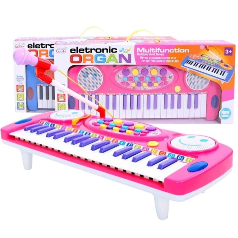 Hàng Độc-Đàn Organ điện tử kèm Micro cho bé yêu