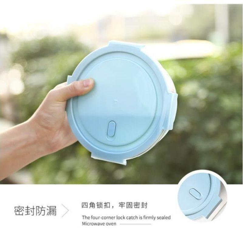 FREESHIP50K Hộp thủy tinh đựng thực phẩm tròn ( ảnh thật )
