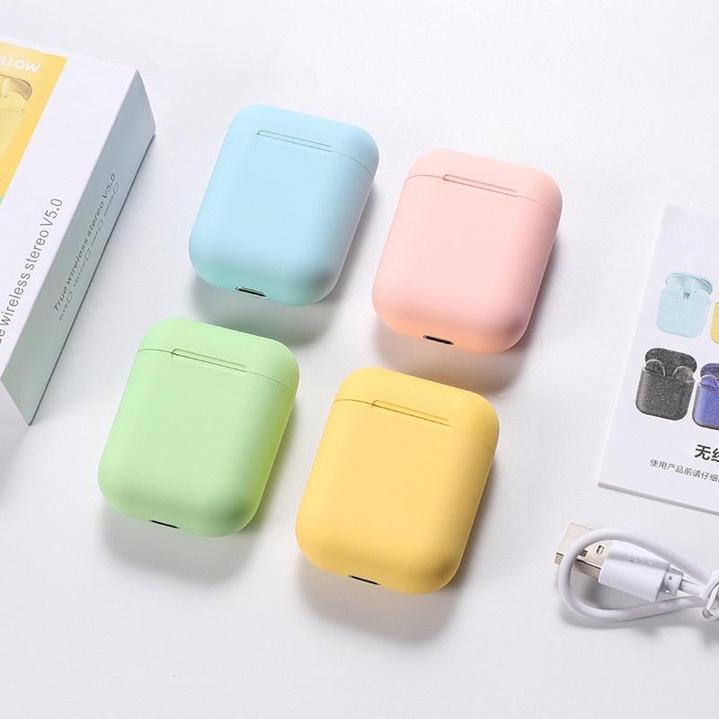 [COD] Tai nghe Bluetooth TWS i12 9 màu trongPodTouch Airpod Key Tai nghe không dây Tai nghe thể thao Tai nghe thể thao cho iPhone Xiaomi Điện thoại thông minh Điện thoại Android Không có hộp bán lẻ
