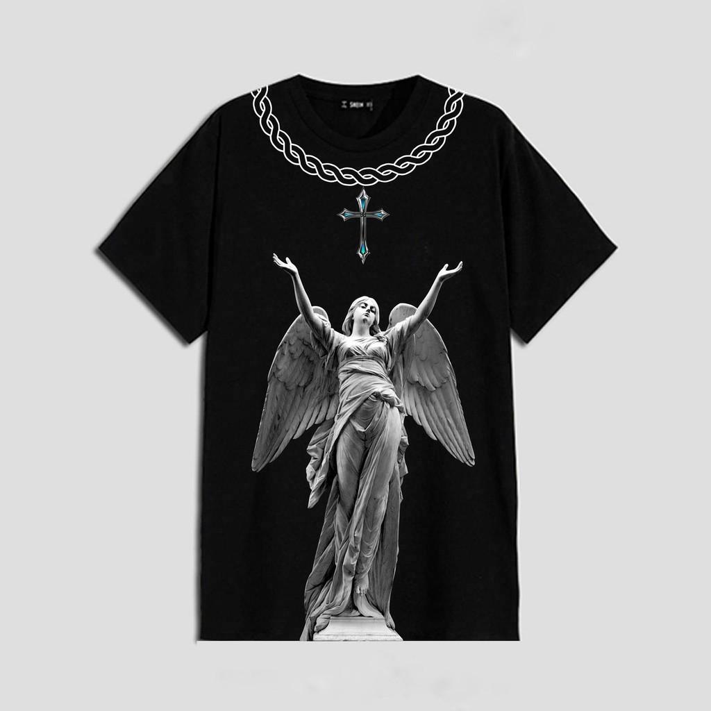 Áo thun tay lỡ Maria , áo T Shirt nam nữ unisex , MSW Town