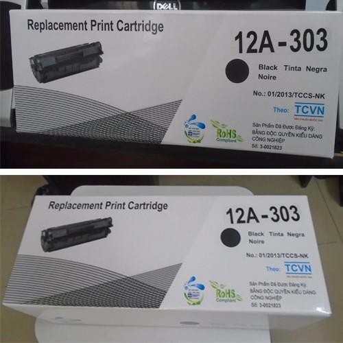 Hộp mực in NK laser Dùng cho máy in canon 2900 – 12A Giá chỉ 135.000₫