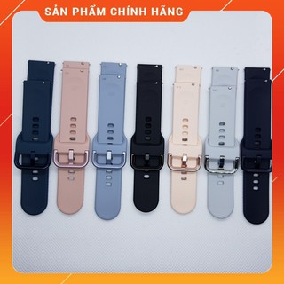 [Mã ELFLASH5 giảm 20K đơn 50K] Dây Đồng Hồ Samsung Galaxy Watch Active ✅Size 20mm ✅Không Ngấm Nước Chính Hãng