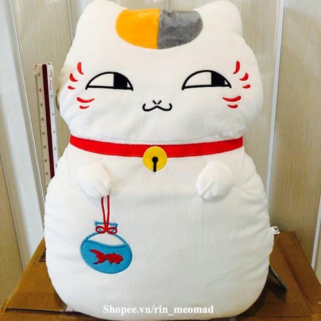 [AUTH] Nyanko Dayori – Big Plushy Cushion ~ Gối ôm Nhật Sanrio Amuse Disney Taito Authentic