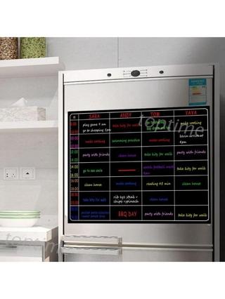 Bảng kế hoạch từ tính dán tủ lạnh thumbnail