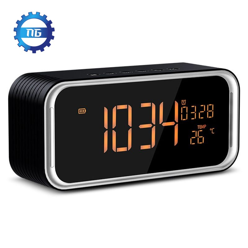 Đồng hồ kiêm loa Bluetooth siêu trầm