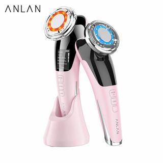 Máy chăm sóc da mặt ANLAN công nghệ rung siêu âm giúp giảm nếp nhăn/massage/se khít lỗ chân lông chất lượng cao