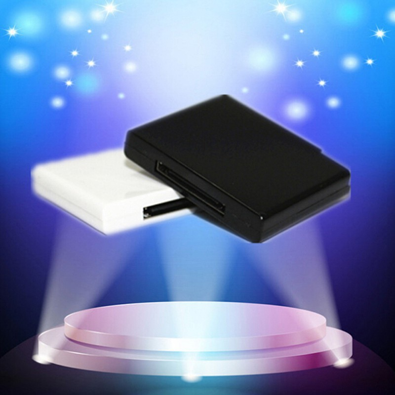 ❤ MY ♣ Bluetooth v2.0 Music Receiver Adapter for Pod Phone 30 Pin Speaker with 1 LED Giá chỉ 135.200₫