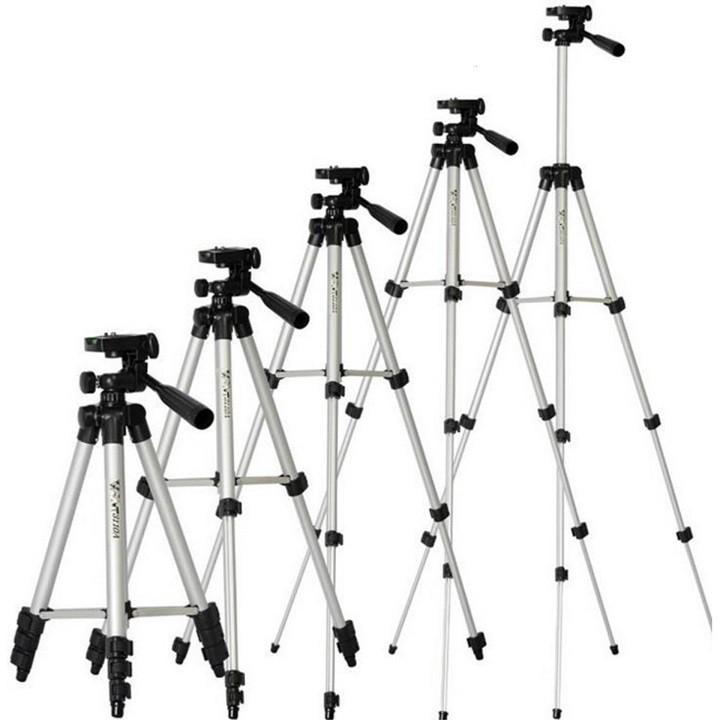 Giá đỡ cho máy ảnh và điện thoại Tripod TF -3110- Gậy 3 Chân Kèm Giá Đỡ