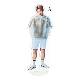 ☆VN Kpop Stars BTS Bangtan Boys Acrylic Stand Figure Double Side Table Decor