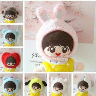 [Outfits Doll] Mũ Chùm BT21 Cho Doll 20cm