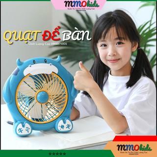 Quạt Mini Để Bàn Hình Thú Cắm Điện 🌟BẢO HÀNH 12 THÁNG🌟 Quạt Hình Động Vật Đáng Yêu, Cute Cho Các Bé,Học Sinh, Sinh Viên