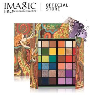 Bảng Phấn Mắt Imagic 36 Màu Lì Và Ánh Nhũ Kết Hợp Trang Điểm Mắt Nổi Bật
