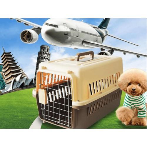 Lồng hàng không (size 3+4 ) Lồng vận chuyển chó mèo đi Máy bay và Tàu xe