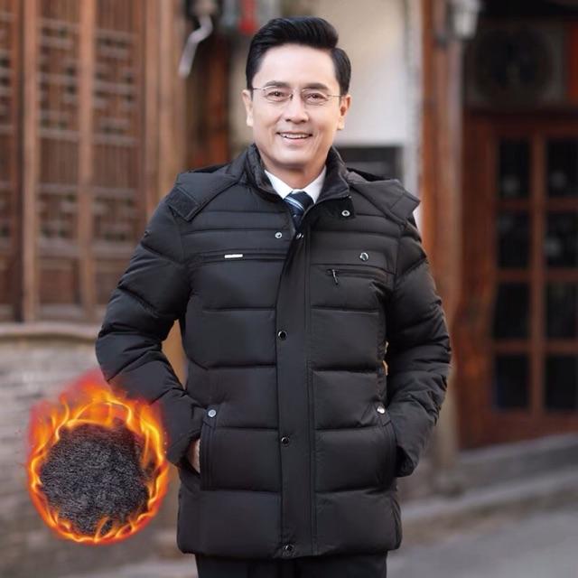 Áo phao cho bố siêu ấm (ảnh thật)