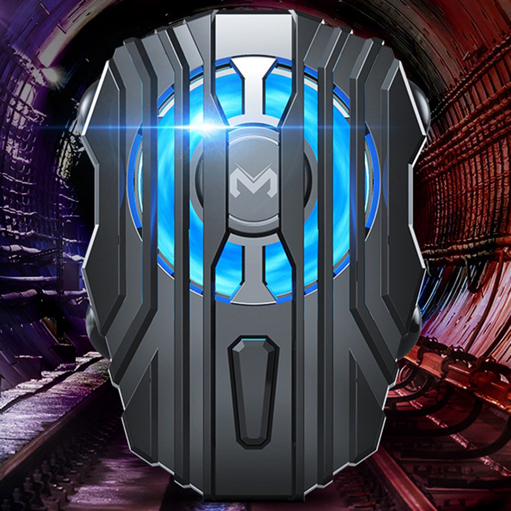 Mobile Phone Cooler Radiator Cooling Fan Holder Stand Fan Case Power Gamepad For Cell Phones PUGB