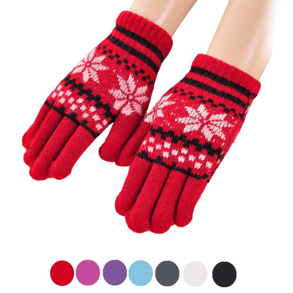 Găng tay dệt kim giữ ấm