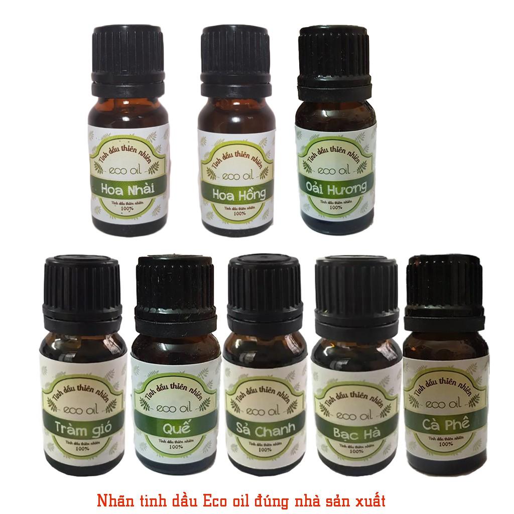 Các loại tinh dầu Eco oil 10ml đủ mùi