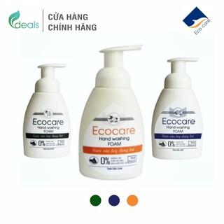 Nước Rửa Tay Bồ Hòn Hữu Cơ ECOCARE 250ml - Sạch khuẩn, chăm sóc da tay, tinh dầu khử mùi thumbnail