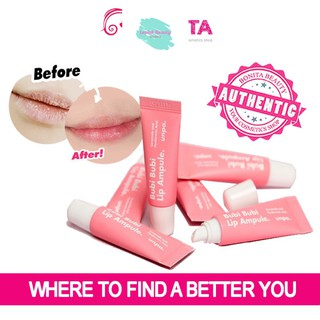 [Mã giảm giá mỹ phẩm chính hãng] Son Dưỡng Môi Bubi Bubi Lip Ampoule 10g - giúp cho đôi môi mịn màng, hồng hào và căng m thumbnail