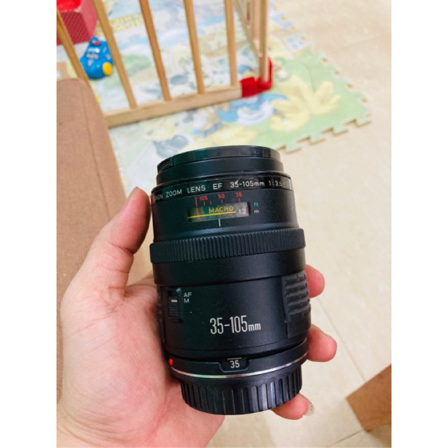 lens canon EF 35-105 f3.5-4.5 MACRO dùng cho canon Fullframe và crop đều được