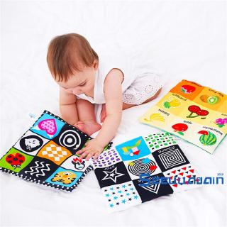 ❥☀✿SEESoft Cloth Book Baby Kids Children Early Educational Cartoon Book Toy Number