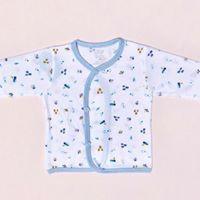 Combo 2 áo cài xéo tay dài họa tiết Jou Chính Hãng vải cotton 100% cao cấp