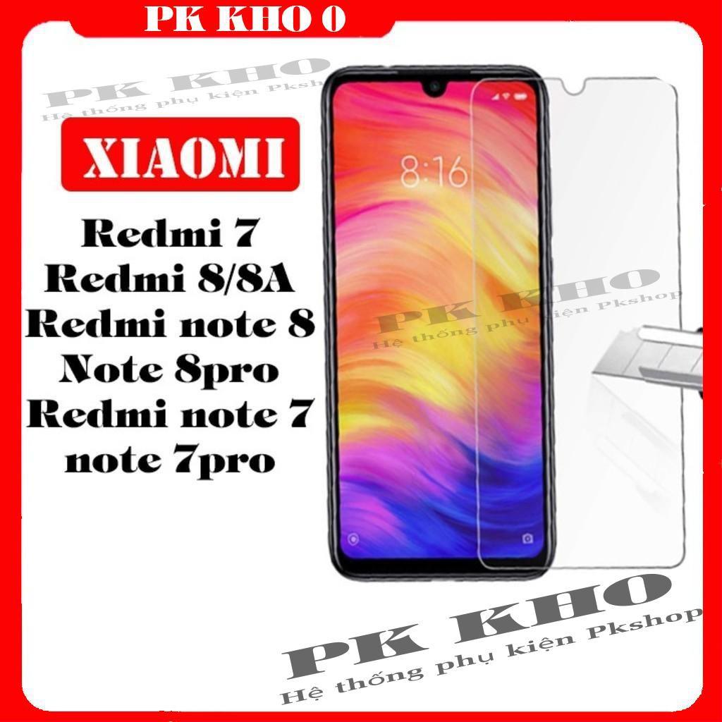 [FreeShip_50K] Kính Cường Lực Xiaomi Redmi 7/8/ note 7/note 8 / note 7pro/note 8 pro - FreeShip50k  [Giá Gốc]
