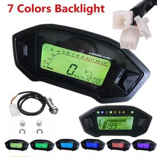 MG Đèn nền kỹ thuật số LCD Đồng hồ đo tốc độ xe máy Đồng hồ đo tốc độ Đồng hồ đo tốc độ