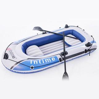 Thuyền hơi thuyền phao xuồng bơm hơi thuyền câu cá INTIME chứa 2-3-4 người chắc chắn
